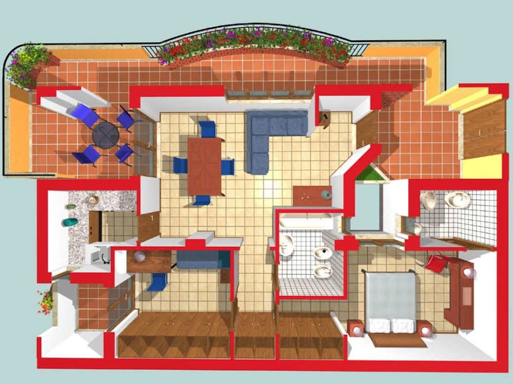 Marino via colizza gruppo giarola for Costruttori di appartamenti garage